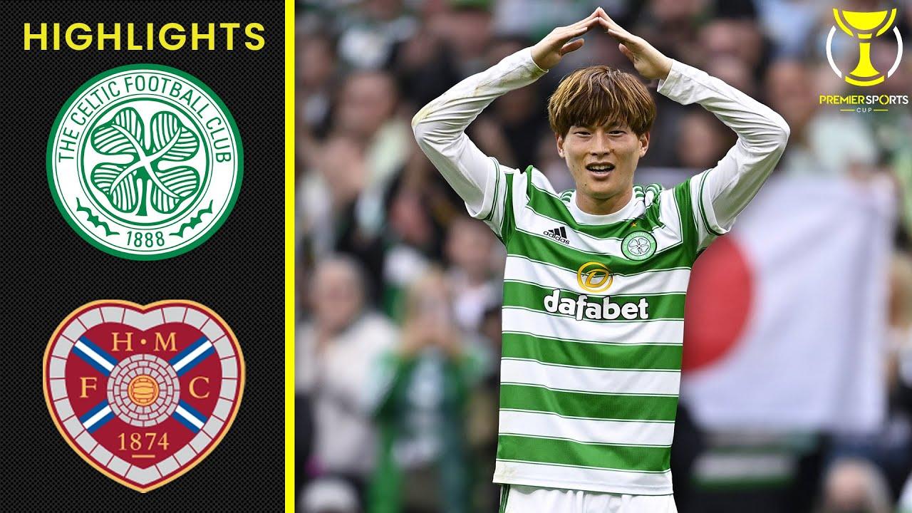 Download Kyogo Furuhashi Sends Celtic To Quarter-Final!   Celtic 3-2 Heart of Midlothian   Premier Sports Cup