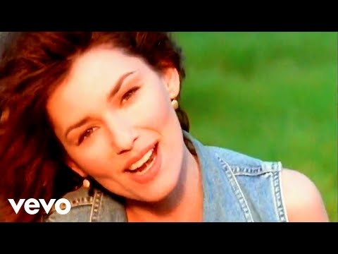 Mix - Shania Twain - Any Man Of Mine (Official Music Video)
