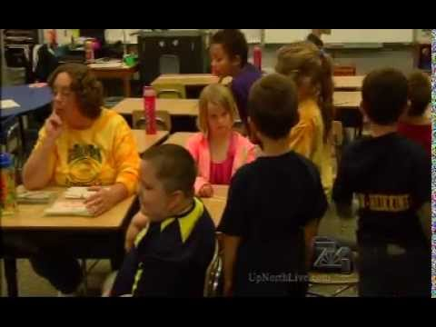 Classroom Salute- Mrs. House and Mrs. Treml's 2nd Grade Roscommon Elementary School