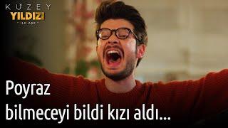 Kuzey Yıldızı İlk Aşk 55. Bölüm - Poyraz Bilmeceyi Bildi Kızı Aldı...