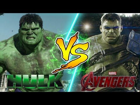 Hulk vs Hulk! WHO WOULD WIN IN A FIGHT?
