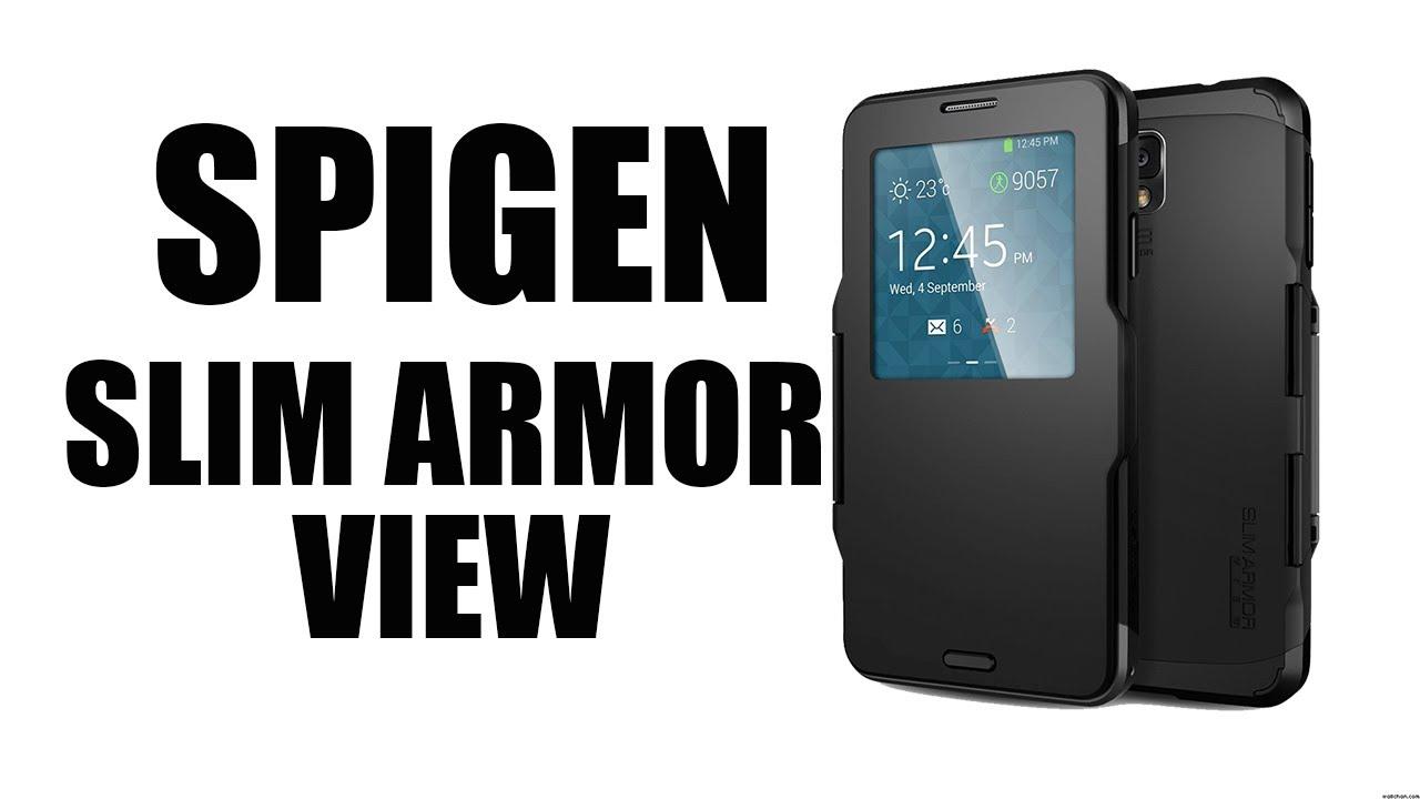 innovative design f8c6e 3d3a3 SPIGEN Slim Armor View Case for Galaxy Note 3