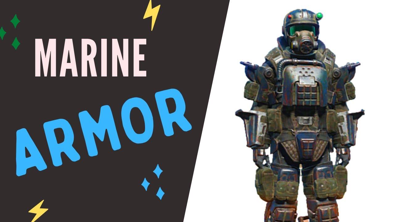 Fallout 76 | Marine Armor Vendor Location - YouTube