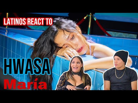 Latinos react to 화사 (Hwa Sa) - 마리아 (Maria) MV| REACTION