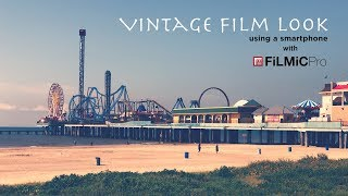 Get a VINTAGE Film Look Using an iPhone
