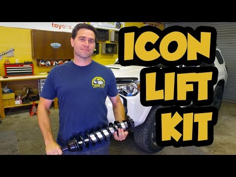 How To: Install an Icon Stage 2 lift kit on a 5th Gen 4 runner
