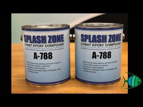 Pettit Paint Splash Zone A-788 - Two Part Epoxy Repair Compound