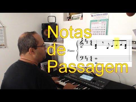 Notas de Passagem - Tutoriais em música - Carlos Veiga Filho