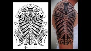 Tribal tattoo designs: From high quality flash to skin pictures from my clients
