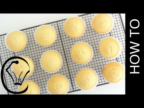 Scratch Vanilla Cupcakes No Mixer Needed Moist Light Fluffy By Cupcake Savvys Kitchen