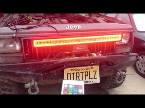 "Nicolight 32"" 180W Halo LED Light Bar Review"