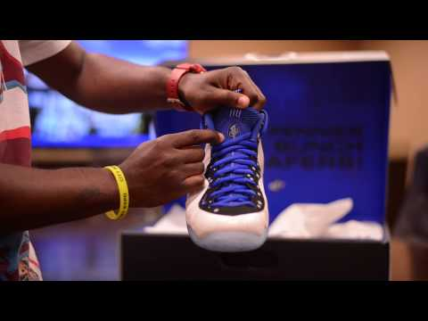 """Nike Shooting Stars Pack """"Foamposite One and Lil Penny Posite"""" Unboxing and On Feet Review"""