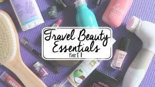 Travel Beauty Essentials (Vegan) | Part 1