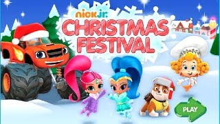 Nick Jr Christmas Festival With Paw Patrol Dora Explorer & More - Games Episodes English