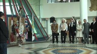 Royal Tour Canada 2012: The Prince of Wales and Duchess of Cornwall visit First Nations University