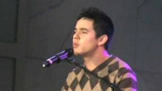David Archuleta Sings A Thousand Miles, Hollywood Tree Lighting