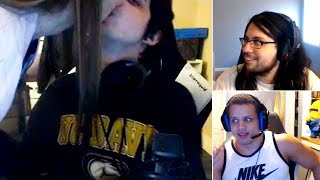 Iwilldominate's girlfriend appears on stream | imaqtpie reaction llstylish | nb3 | lol funny moments