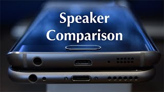 speaker comparison samsung galaxy s6 edge vs iphone 6
