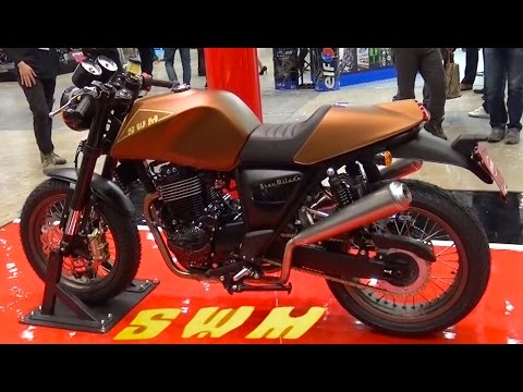 SWM Motorcycles GRAN MILANO Neo-Classic (MV AGUSTA Japan)  Tokyo Motorcycle Show 2016