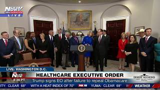 2017-10-12-16-22.FNN-Trump-Signs-Executive-Order-on-Health-Care-After-Failure-to-Repeal-Obamacare