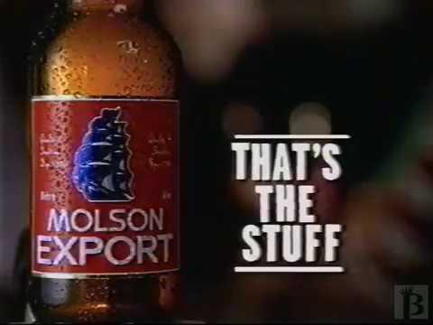 Molson Export Beer Commercial 1997