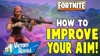 Fortnite | How To Improve Your Aim And Accuracy On Nintendo Switch!!! - Fortnite Battle Royale