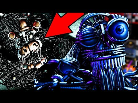 NEW FORM OF ENNARD FOUND IN FNAF 6! || Five Nights at Freddys 6 (EASTER EGG)