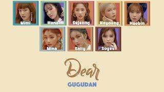 Gugudan - Dear