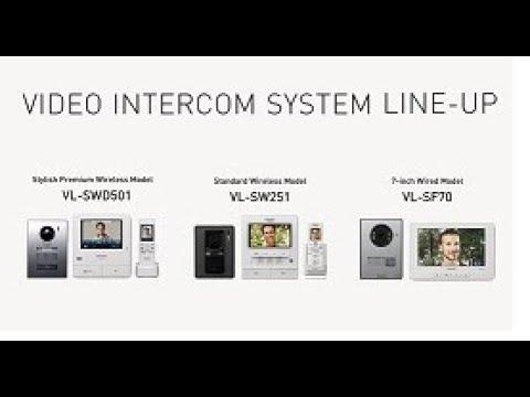 Panasonic Video Intercom System Lineup Vl Swd501 Vl Sw251