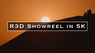 R3D Showreel in 6K
