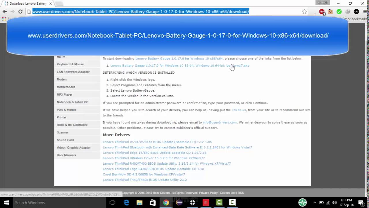 lenovo password manager windows 10