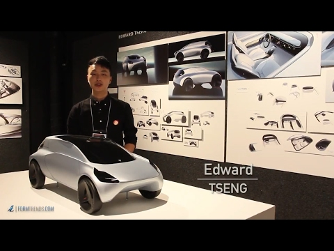 Art Center Graduate Edward Tseng Presents Four Car Design Projects
