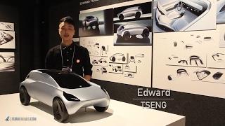 Art Center Graduate Edward Tseng Presents Four Car Design Projects