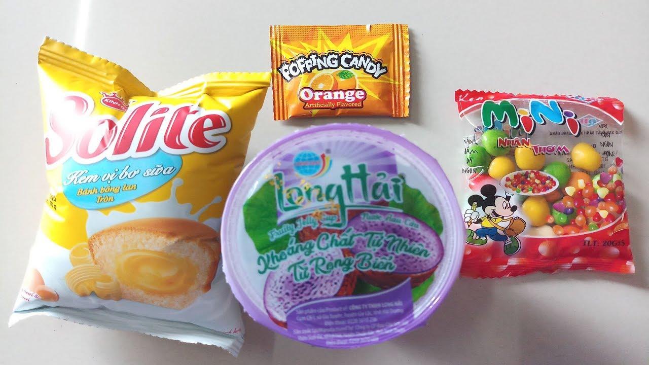 Học màu sắc tiếng anh với bánh Solite, thạch rau câu, kẹo nổ ❤ BiBo Kids TV ❤