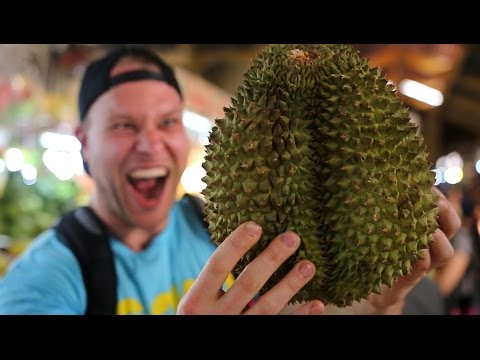 Trying Durian Fruit For The First Time!