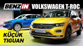 Volkswagen T-Roc ile buluştuk - Frankfurt Otomobil Fuarı 2017
