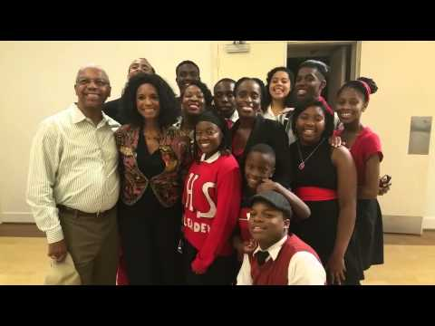 Margaret  Avery with Cast of The Movement Musical -The National Black Theatre Festival