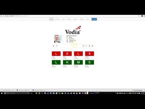 Vodia WebRTC Phone