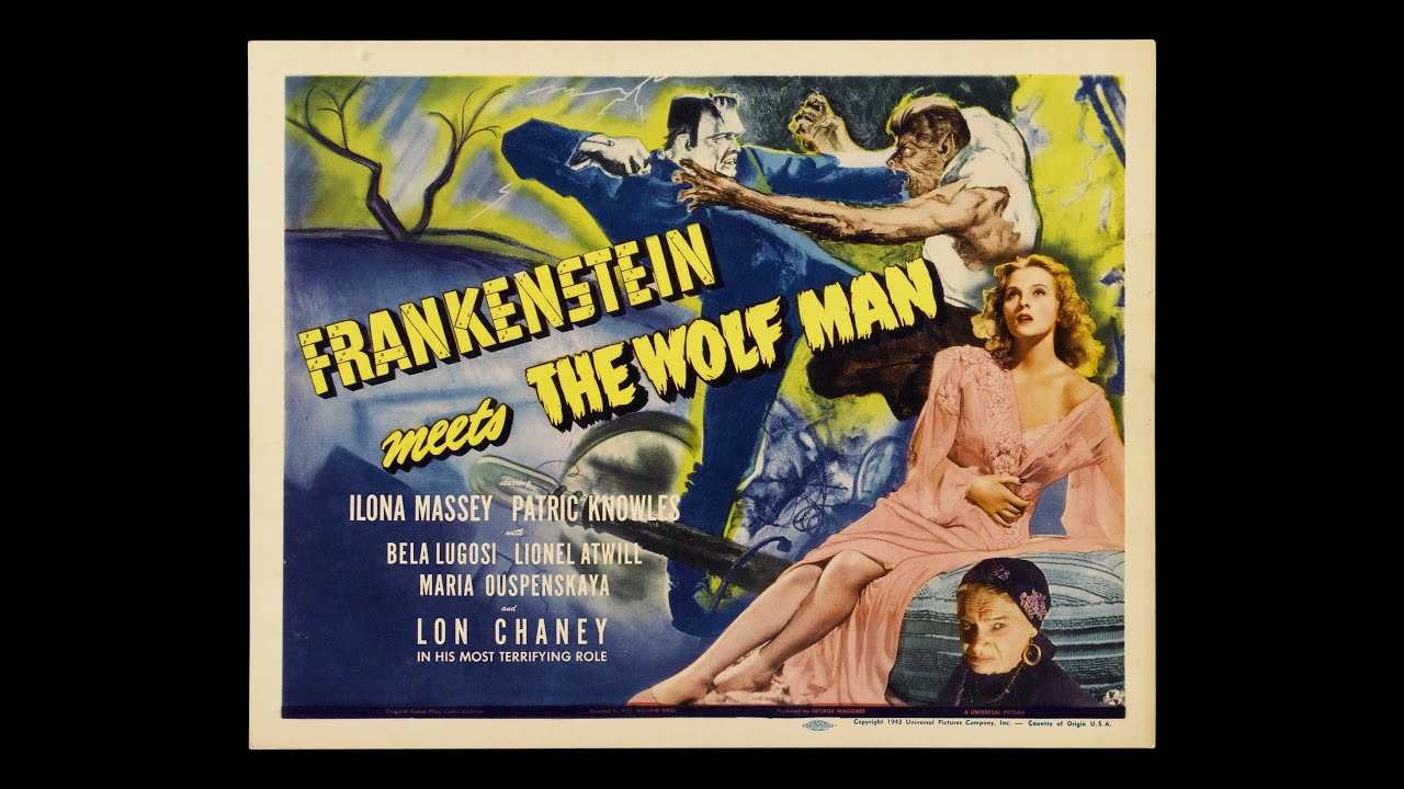 Frankenstein Meets the Wolf Man (1943), Re-Release Trailer