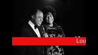 Louis Armstrong & Ella Fitzgerald: Summertime