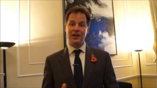 Asian Curry Awards 2013 British Deputy Prime Minister Nick Clegg