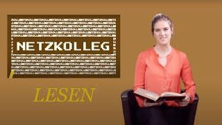 Netzkolleg: LESEN (Bildung im Netz F1 K1)