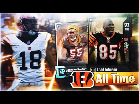 🐯ALL-TIME CINCINNATI BENGALS THEMED TEAM SQUAD BUILDER! Madden 18