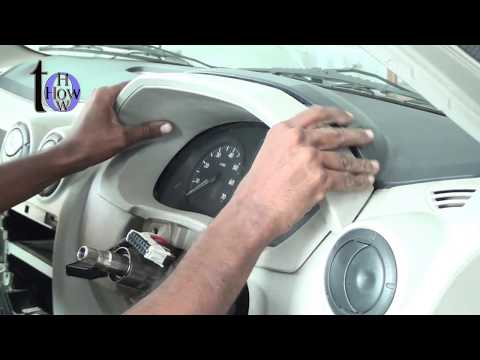 how to repair mahindra verito air conditioning and dash board