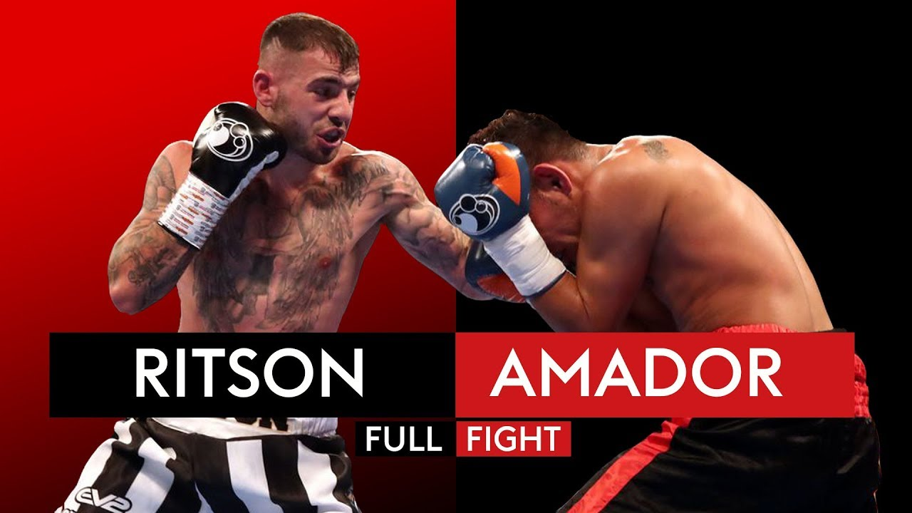 DESTRUCTIVE! Lewis Ritson blasts out Oscar Amador in three rounds ????