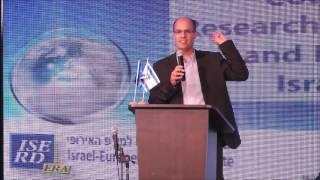 """טקס ההוקרה השנתי לזוכים הישראלים בתוכניות השת""""פ במו""""פ עם אירופה 5.11.2015"""
