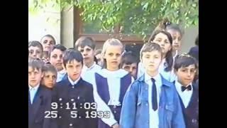 Выпуск 1999 г. ср.шк.№2 , с. Чобручи  часть 1