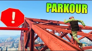 PARKOUR IMPOSIBLE 100% GTA V ONLINE Makigames
