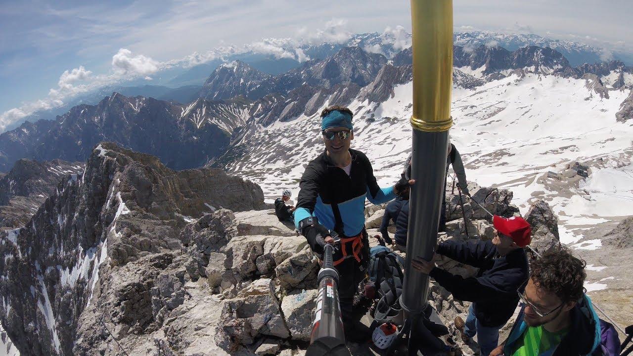 Klettersteig Zugspitze Stopselzieher : Mein erster klettersteig u stopselzieher auf die zugspitze