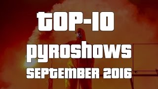 World of Ultras: Top-10 Pyroshows (September 2016)